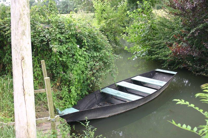 una barca en el Marais