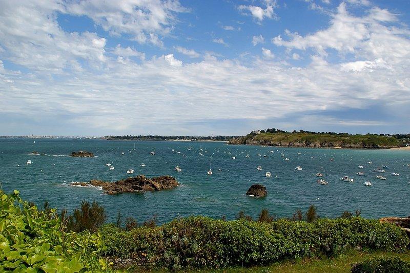 Photo touristique du port de Saint Lunaire à 3,5 Kilomètre du Gîte de la Gueule des Landes