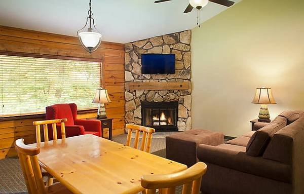 Entire Cabin 2 WI Dells 3 beds(2 Bedrooms) 2 Baths with Fully Equipped Kitchen, vacation rental in Wisconsin Dells