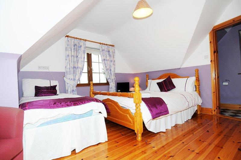 Εναλλακτική άποψη της Rose Of Tralee Σουίτα (διπλό κρεβάτι και δύο μονά)