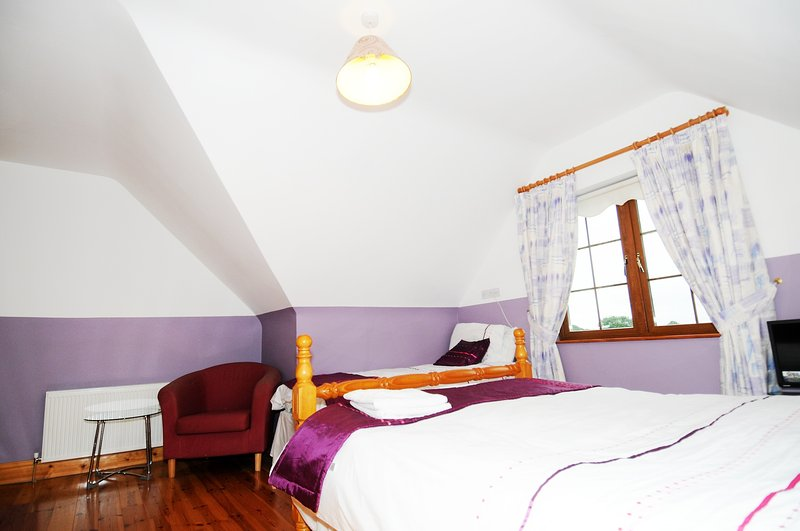 The Rose Of Tralee Suite  ( Irish Breakfast Incl), holiday rental in Gorteen