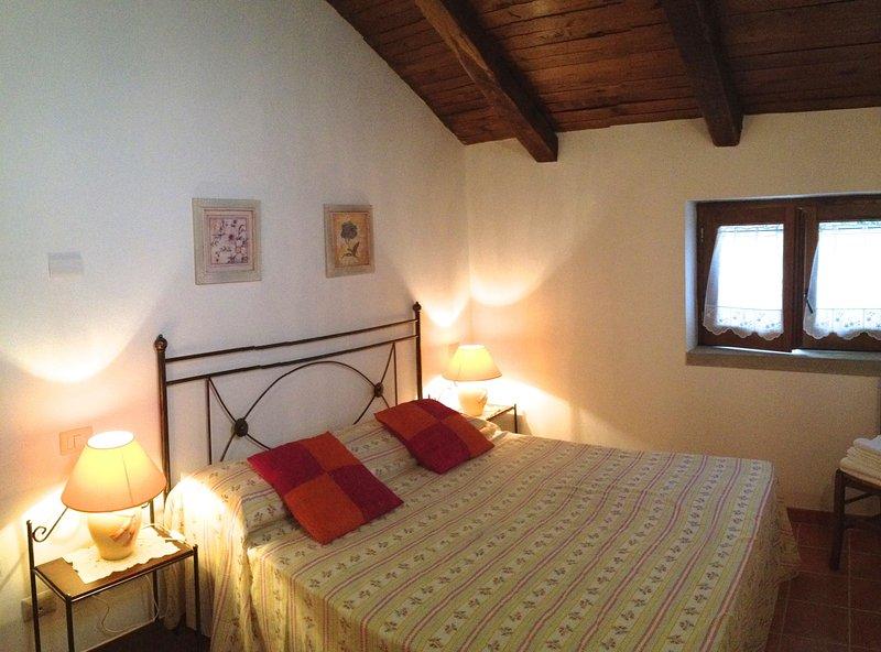 double bedroom on upper floor