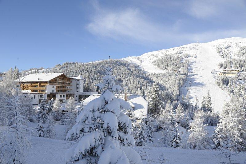 The Alpenhaus Katschberg right on the slopes