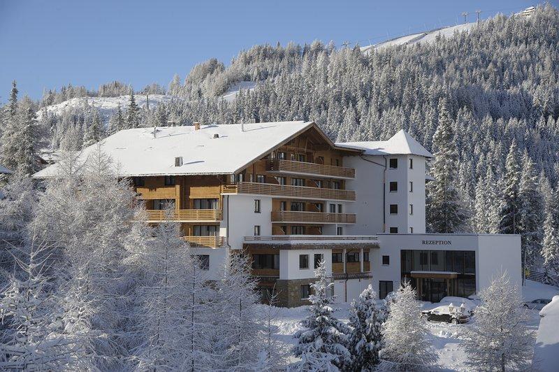 The Alpenhaus Katschberg in winter