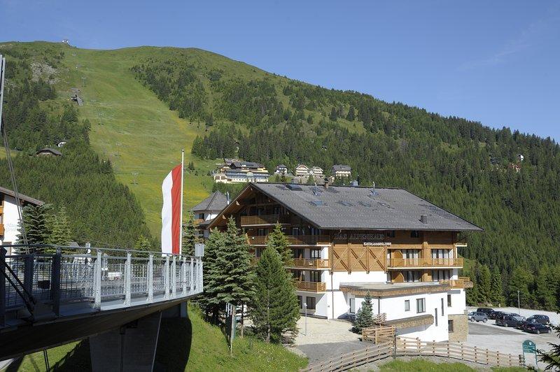 The Alpenhaus Katschberg in summer