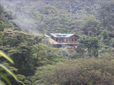 Villa Kristina Maria est dans un endroit privé niché dans la forêt tropicale.