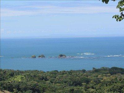 Vue de séjour de Tres Hermanas, Cano île, et l'île Ballena