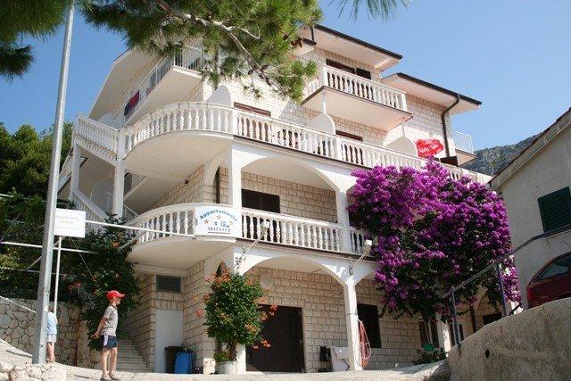 Ferienwohnung mit Meerblick (A1), casa vacanza a Duce