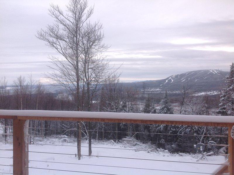 Vista de la estación de esquí de Mont Saint-Anne