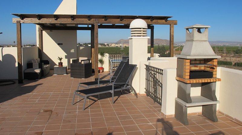 Roda Golf penthouse apartment near Los Alcazares, alquiler de vacaciones en San Cayetano