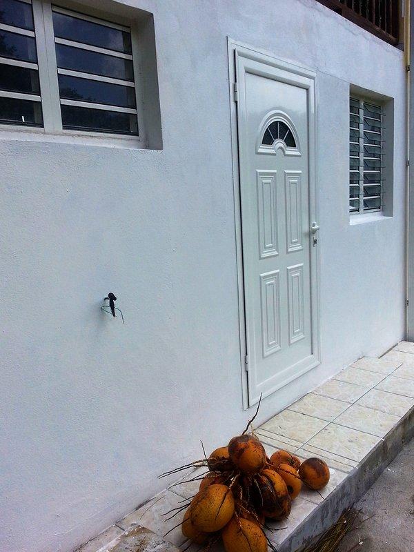 entrada del apartamento, vista lattérale