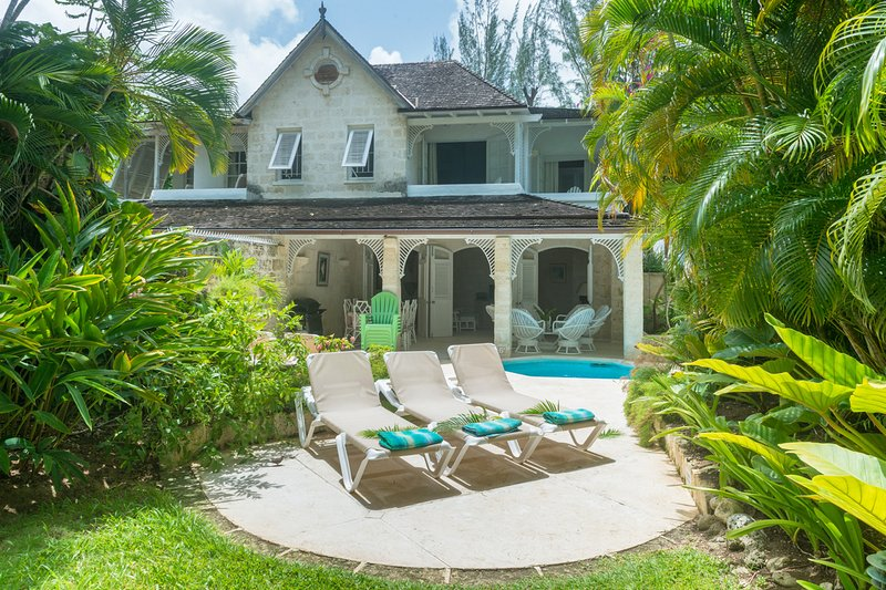 Waverly House - traditional Barbadian villa