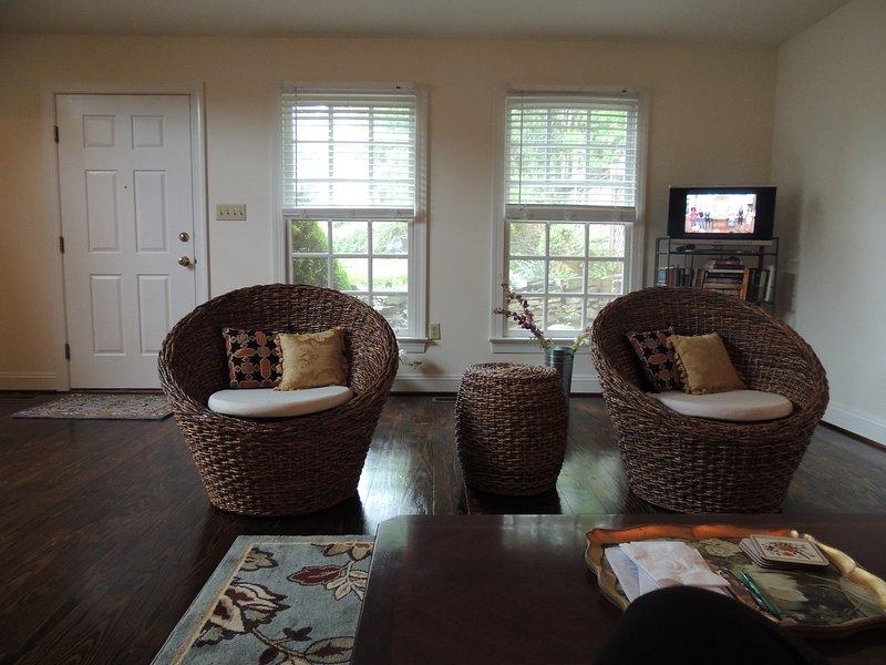 Comfy grande sala de estar.