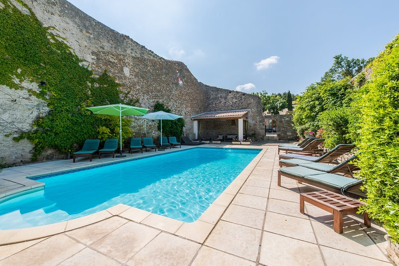 Gite Olivier - La Maison Des Vignes - Luxury gites & heated pool, holiday rental in Carcassonne Center