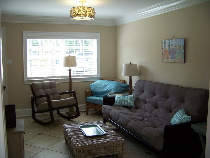 Newly remodeled South End townhouse condo.