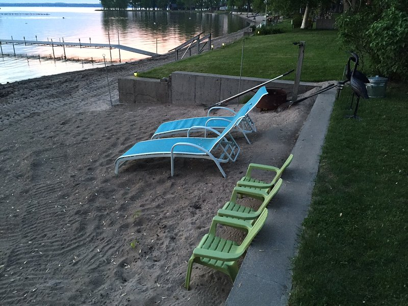 Beach Seating Area for Adults and Children