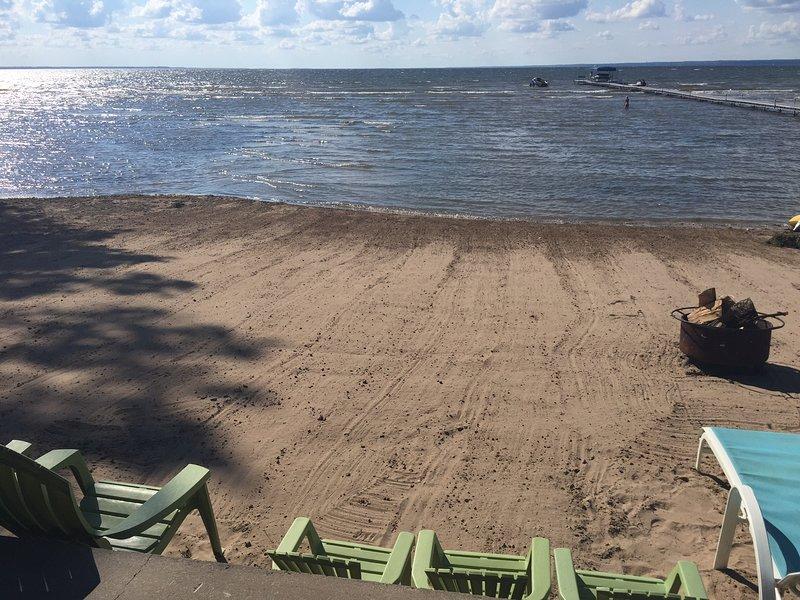 Perfect Sandy Beach - No Rocks, No Shells, No Shoes!