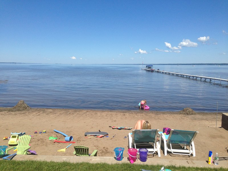 Perfect Beach and Family Fun for People of All Ages - Shallow Sandy Cove