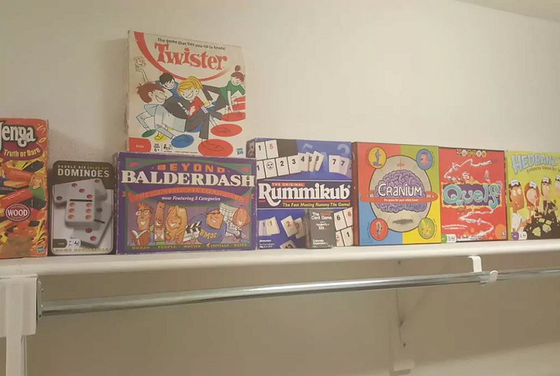 Games for our guests to play. Losers aren't allowed to throw temper tantrums! Or do. Its up to you.