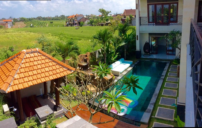 full view paddy's and sunset private luxury villa, holiday rental in Buduk