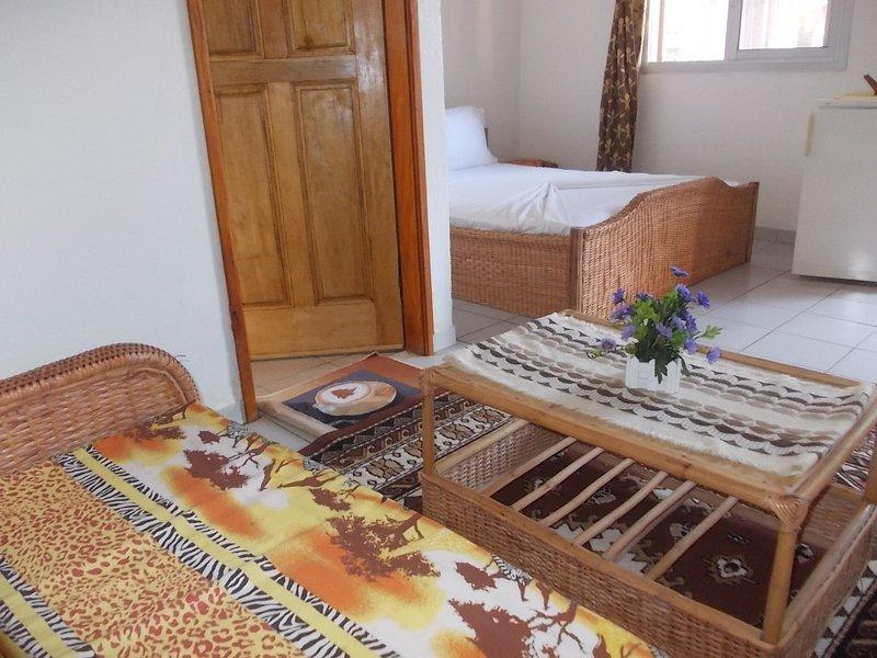 Chambres confort dans mini resort bord mer, location de vacances à Cameroun