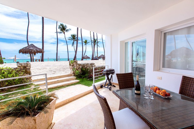 Sea View Deluxe Beach front 5 guests WiFi, location de vacances à Bavaro