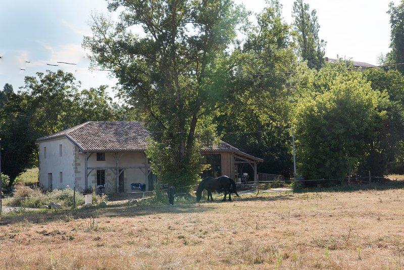 Gîte 'la Galerie', meublé de tourisme à 10 mn de Marmande ., vacation rental in Meilhan-sur-Garonne