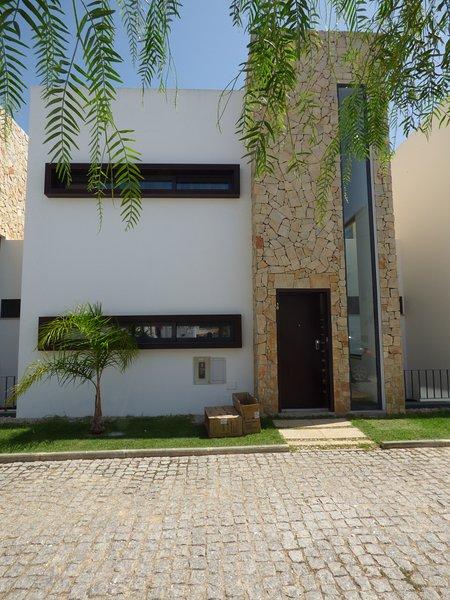 Villa puerta delantera