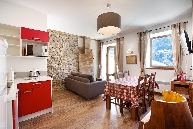 Mont Blanc Lodge - Flocon Lodge, holiday rental in Hauteluce