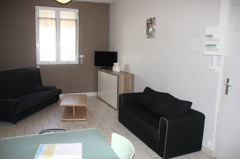 Appartement Berck-Plage 2 à 5 personnes, holiday rental in Pas-de-Calais