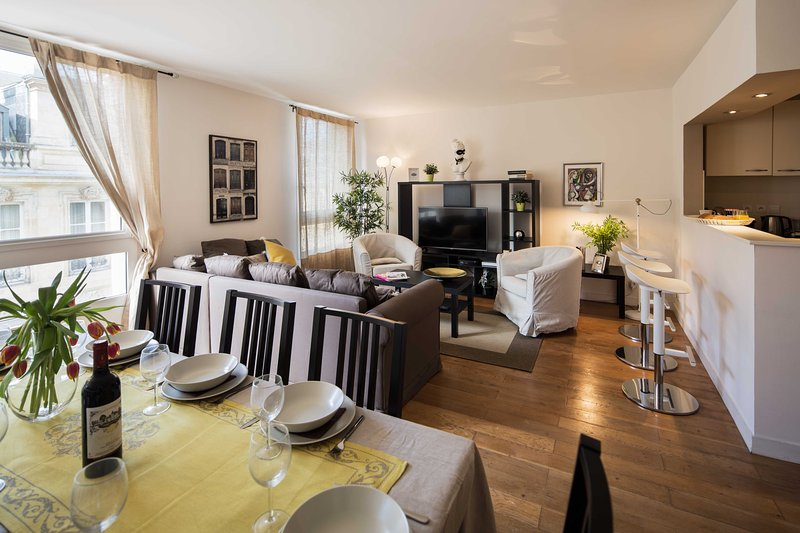 Triangle d'or Bordelais spacieux appartement, holiday rental in Cenon