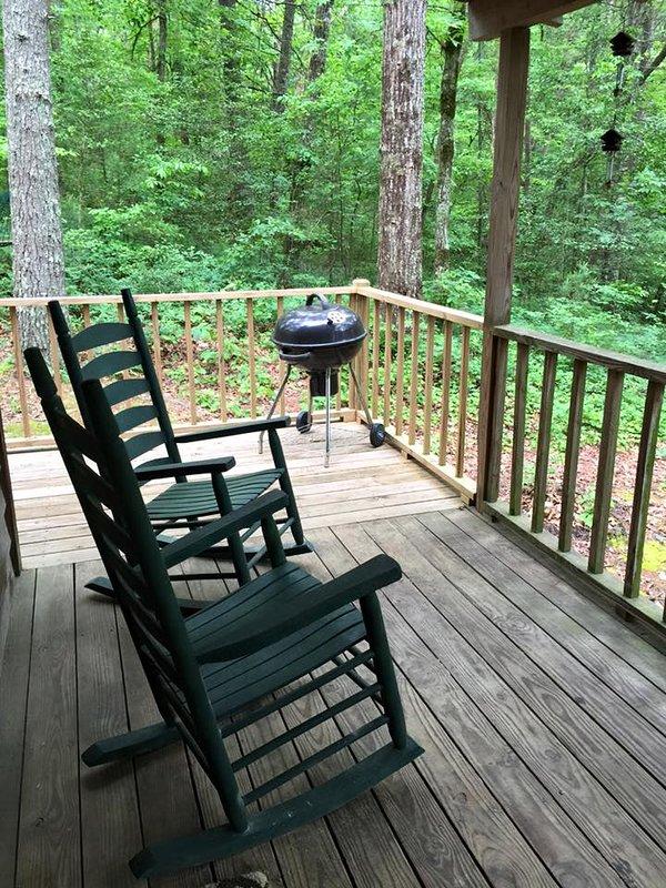 Honey Bear Hot Tub Cabin Near Tallulah Gorge Has Shared