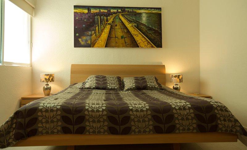Master bedroom king size by Las Olas 208