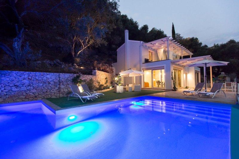 Pool / Villa Blick