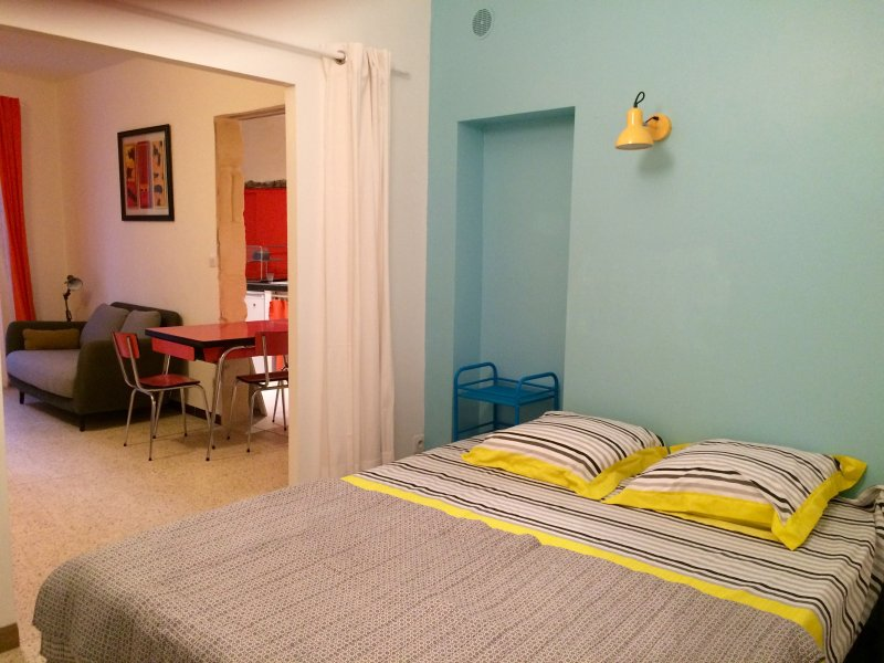 Hyper central, appartement spacieux et confortable, vacation rental in Fourques