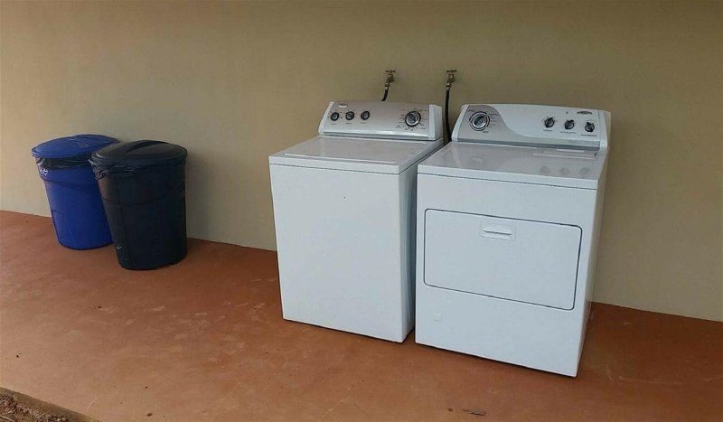 Uso gratuito de lavadora y secadora