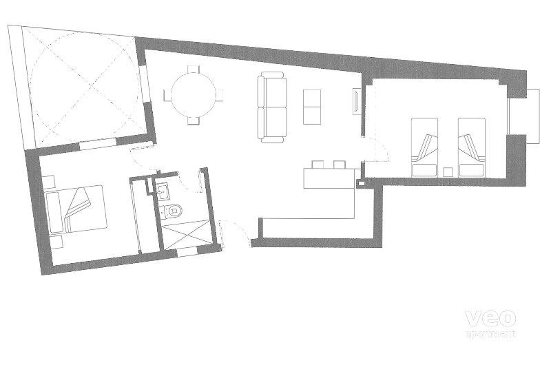 72m² | first floor | elevator