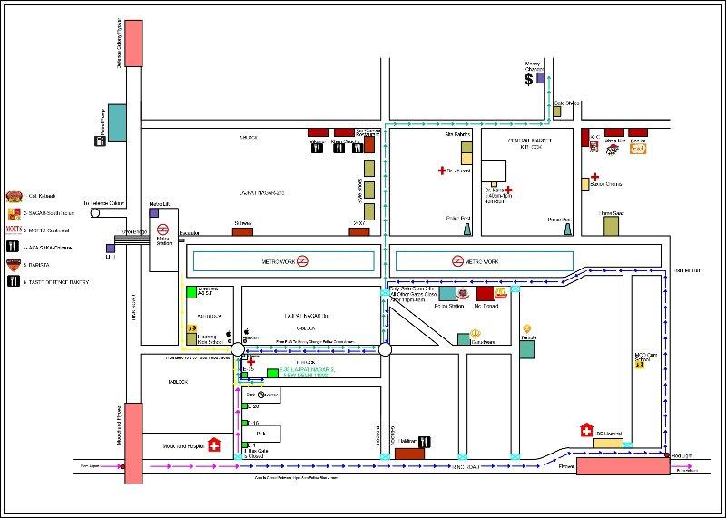 Mappa della posizione e la zona circostante della Listing