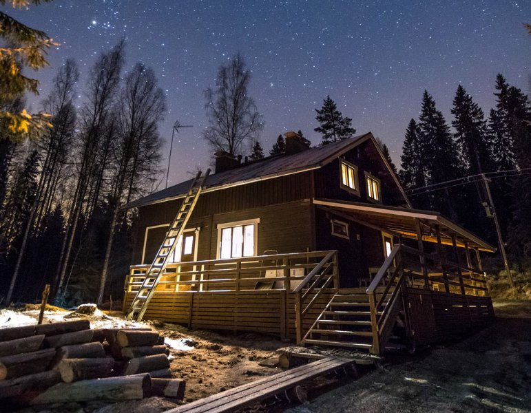 Evo Wilderness Villa - Peace & Privacy, vacation rental in Luopioinen