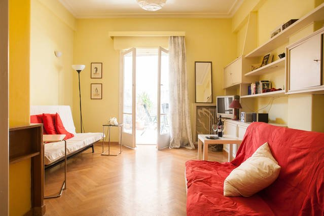 sunny and cosy  flat with big terrace, holiday rental in Nea Chalkidona