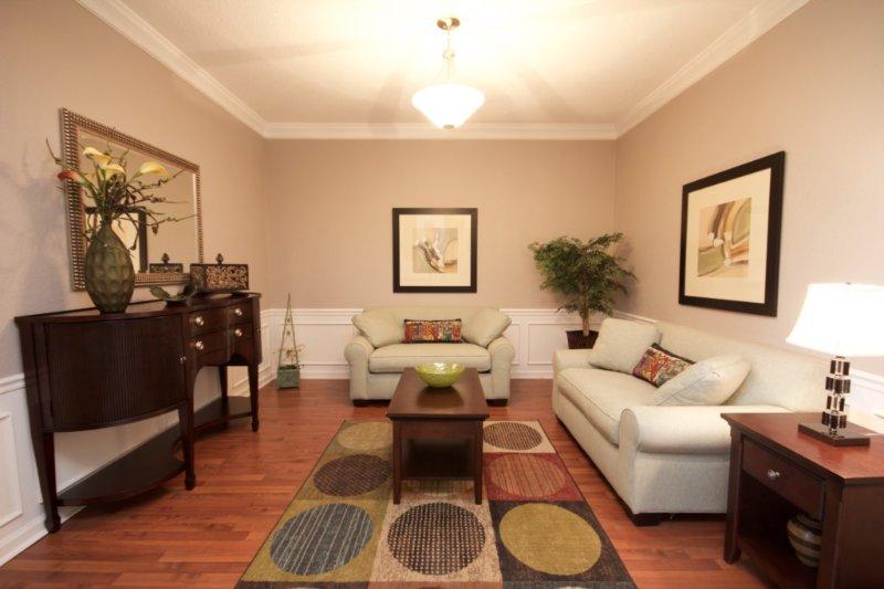 Binnen, kamer, eetkamer, kast, meubels