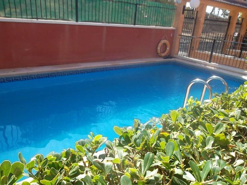 piscina tranquila