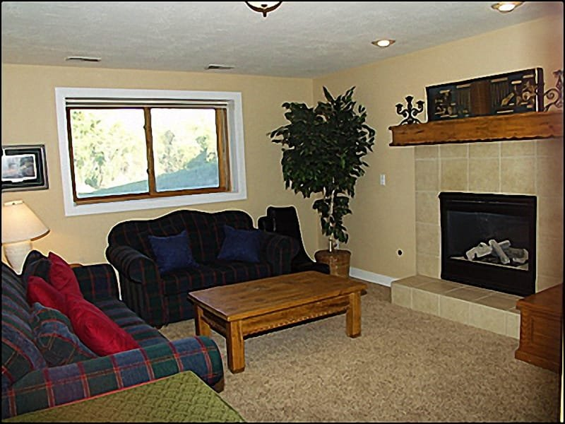 2nd living Room - Fireplace