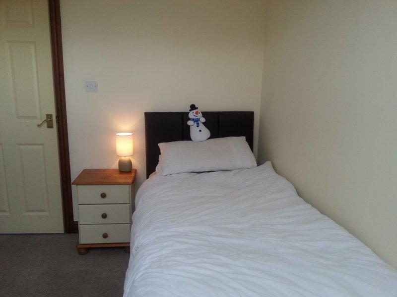 L'une des chambres simples