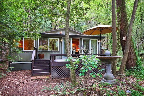 Falling Leaf, Charming Cabin in the Redwoods