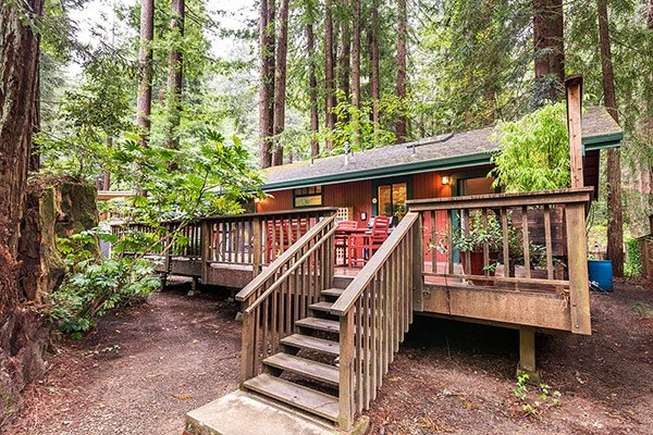 Hearthside Cabin, Vacation Rental on Austin Creek
