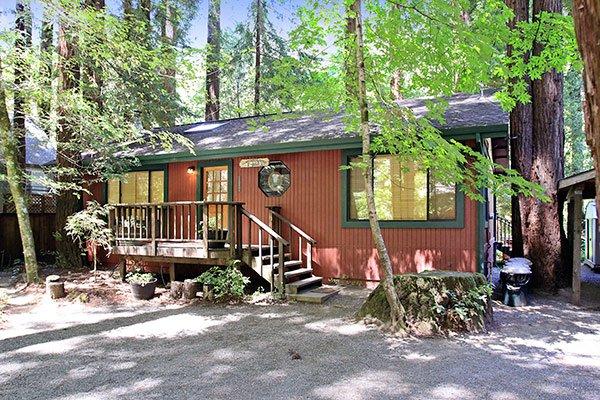 Hearthside Cabin, Exterior, Creekfront in Cazadero