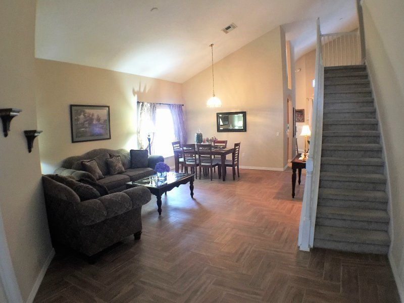 foyer / living room / dining room
