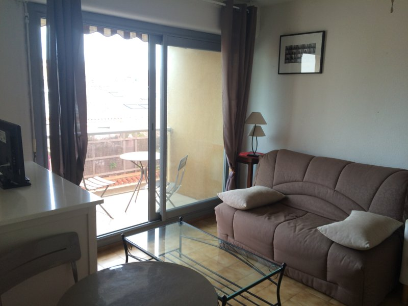 Bel appartement T2 avec terrasse et parking, plein centre de Sete, vacation rental in Sete