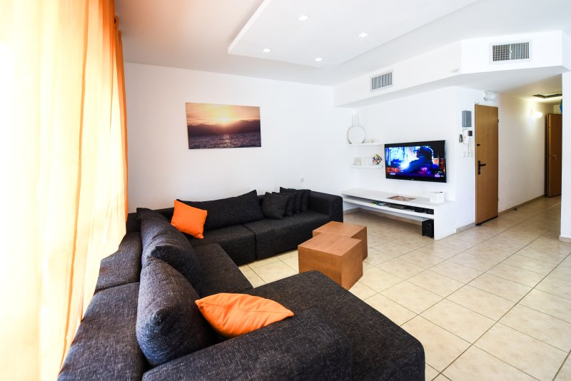 Apartmet near the beach with sea view, alquiler de vacaciones en Eilat
